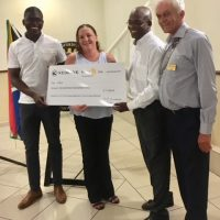 Kilimanjaro Presentation & donation to Childhood Cancer Foundation South Africa 2