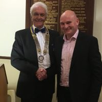 Induction of President Alan Rock 1