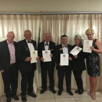 Members receive 100% attendance awards 1